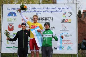 Podium 44. Int. Junioren Etappenfahrt