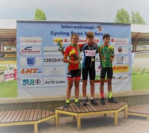 Siegerehrung Landesmeisterschaft Omnium U13